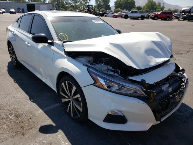 Salvage cars for sale from Copart Colton, CA: 2021 Nissan Altima SR
