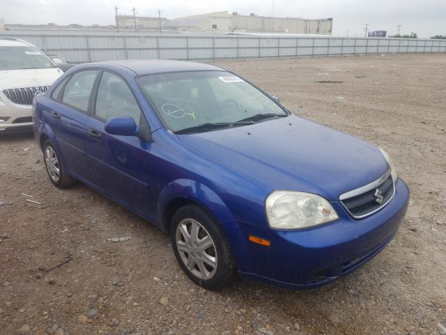 Salvage cars for sale at Mercedes, TX auction: 2007 Suzuki Forenza BA