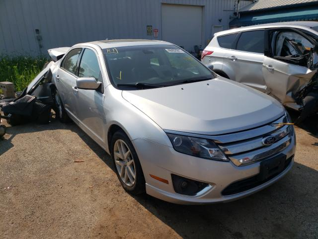 Salvage cars for sale from Copart Pekin, IL: 2012 Ford Fusion SEL