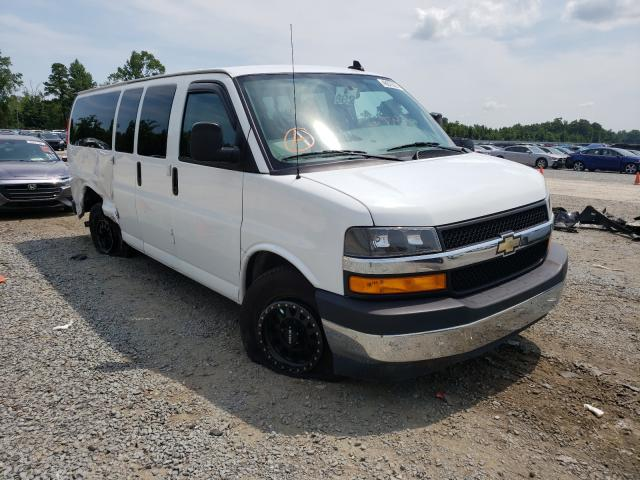 Salvage trucks for sale at Lumberton, NC auction: 2018 Chevrolet Express G3