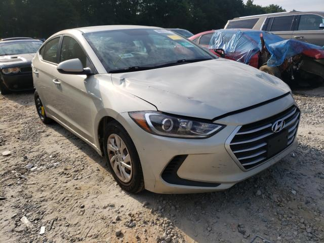 Salvage cars for sale from Copart Austell, GA: 2017 Hyundai Elantra SE