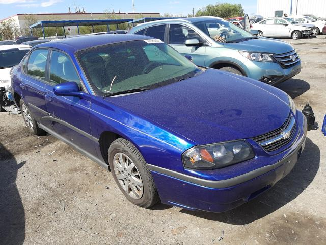 Salvage cars for sale from Copart Las Vegas, NV: 2005 Chevrolet Impala