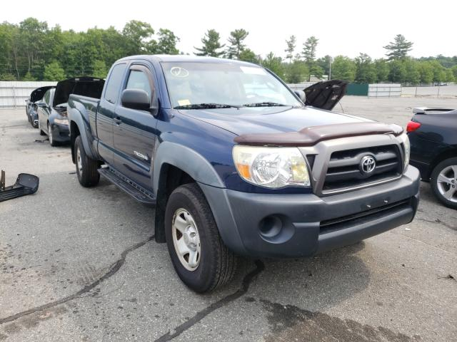 Salvage cars for sale from Copart Exeter, RI: 2006 Toyota Tacoma ACC