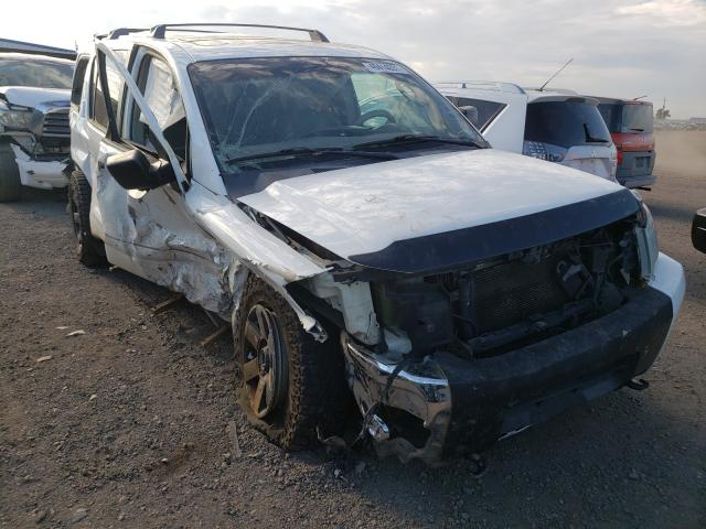 Salvage cars for sale from Copart Brighton, CO: 2004 Nissan Armada SE