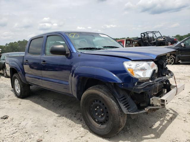 Salvage cars for sale from Copart Ellenwood, GA: 2014 Toyota Tacoma DOU