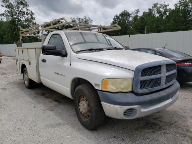 Salvage cars for sale from Copart Greenwell Springs, LA: 2003 Dodge RAM 2500 S