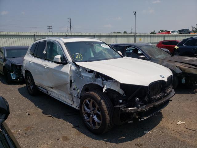BMW X3 salvage cars for sale: 2021 BMW X3