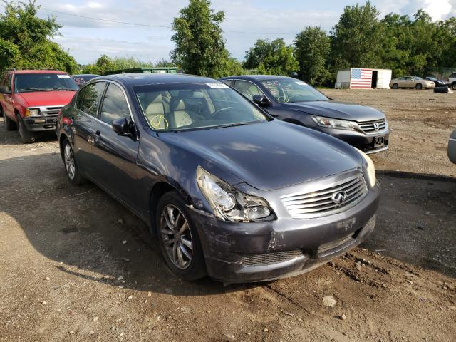 Salvage cars for sale from Copart Baltimore, MD: 2009 Infiniti G37