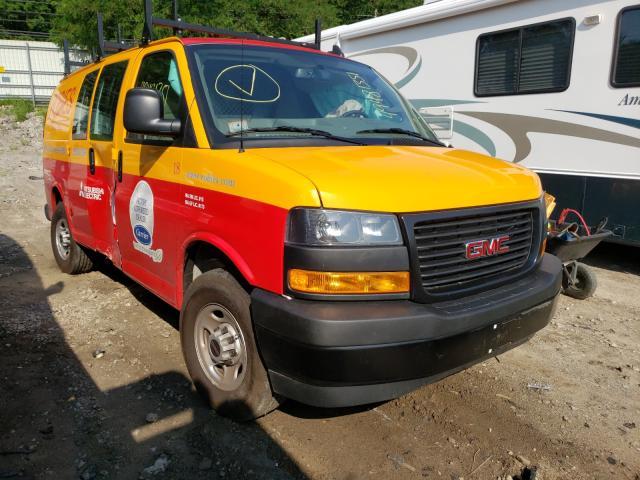 GMC salvage cars for sale: 2021 GMC Savana G25
