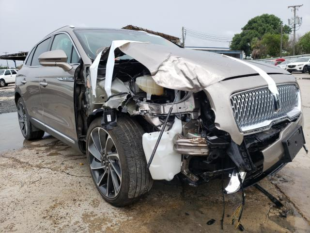 Salvage cars for sale from Copart Corpus Christi, TX: 2019 Lincoln Nautilus R