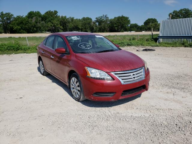 Salvage cars for sale from Copart Wichita, KS: 2014 Nissan Sentra S