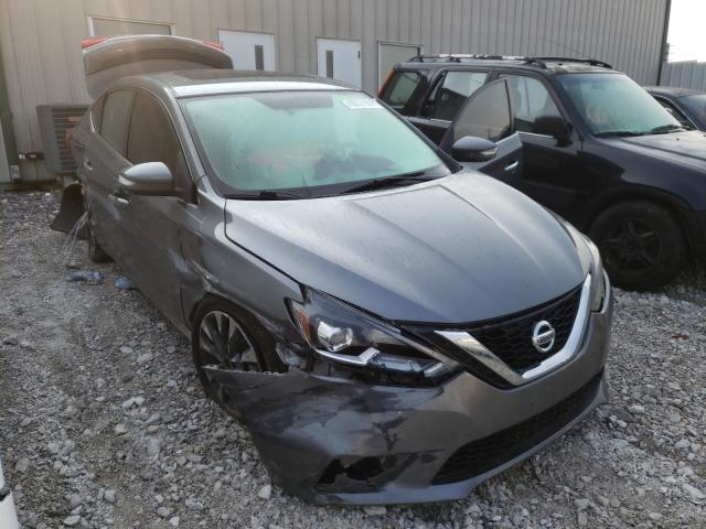 Nissan Vehiculos salvage en venta: 2017 Nissan Sentra SR