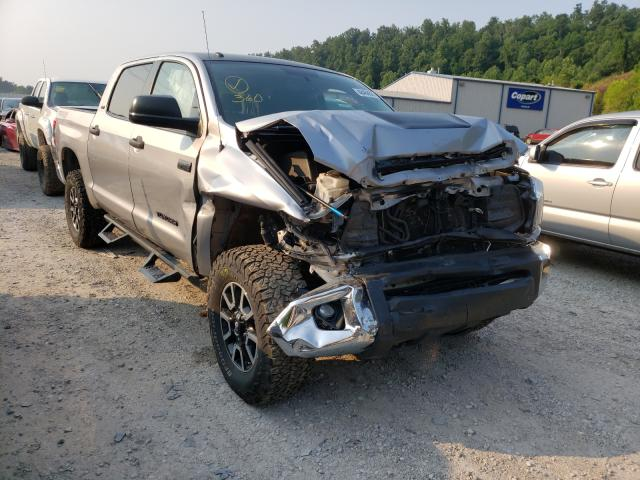 Salvage cars for sale from Copart Hurricane, WV: 2015 Toyota Tundra CRE