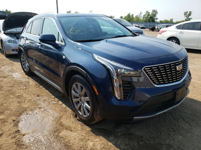 Salvage cars for sale from Copart Pekin, IL: 2019 Cadillac XT4 Premium