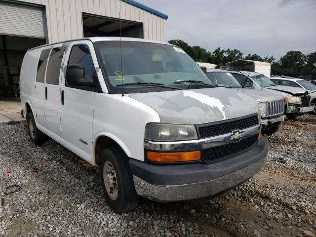 Salvage cars for sale from Copart Ellenwood, GA: 2004 Chevrolet Express G2