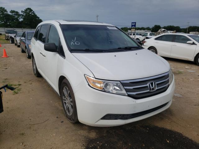 Salvage cars for sale from Copart Newton, AL: 2011 Honda Odyssey EX