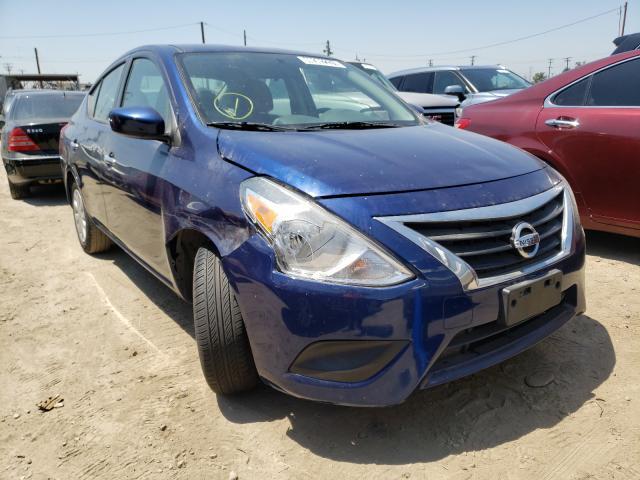 Vehiculos salvage en venta de Copart Los Angeles, CA: 2019 Nissan Versa S