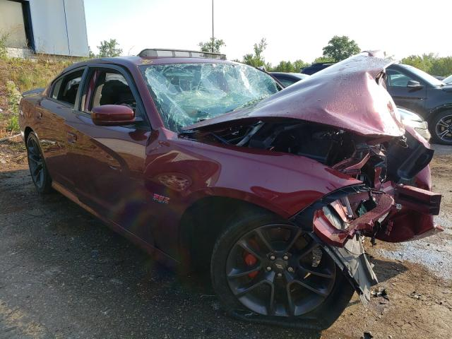 Salvage 2020 DODGE CHARGER - Small image. Lot 48292521