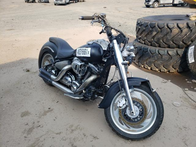 Salvage motorcycles for sale at Hillsborough, NJ auction: 2003 Yamaha XV1600 AS