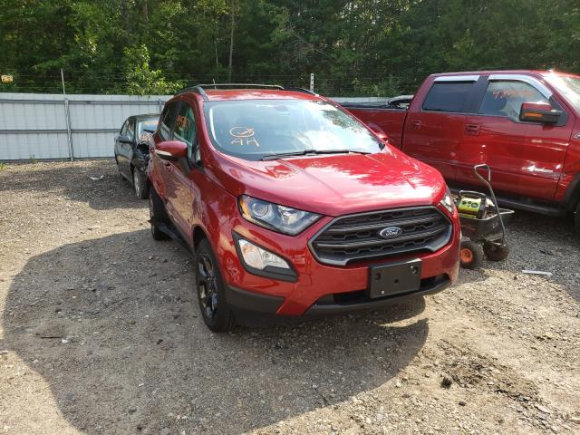 Ford Ecosport salvage cars for sale: 2018 Ford Ecosport