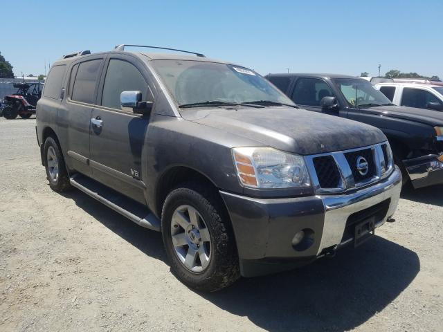 Salvage cars for sale from Copart Antelope, CA: 2005 Nissan Armada
