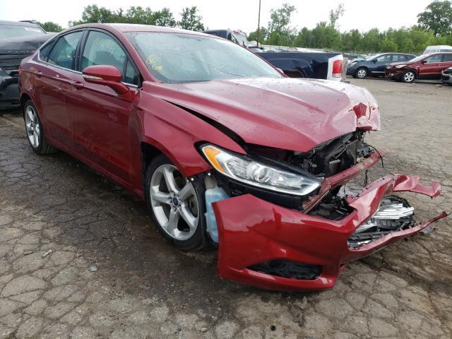 2016 Ford Fusion en venta en Woodhaven, MI