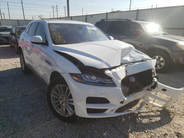 Salvage cars for sale from Copart Haslet, TX: 2017 Jaguar F-PACE Premium