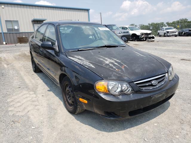 KIA Spectra salvage cars for sale: 2004 KIA Spectra
