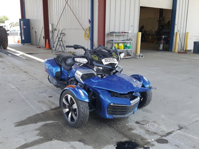 Salvage cars for sale from Copart Billings, MT: 2018 Can-Am Spyder ROA