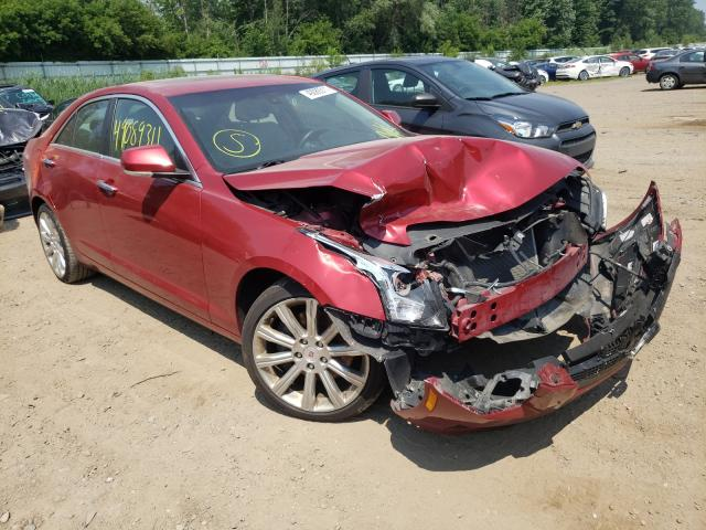 Salvage cars for sale from Copart Davison, MI: 2013 Cadillac ATS Luxury