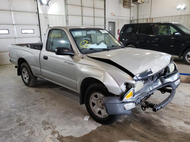 Salvage cars for sale from Copart Columbia, MO: 2002 Toyota Tacoma