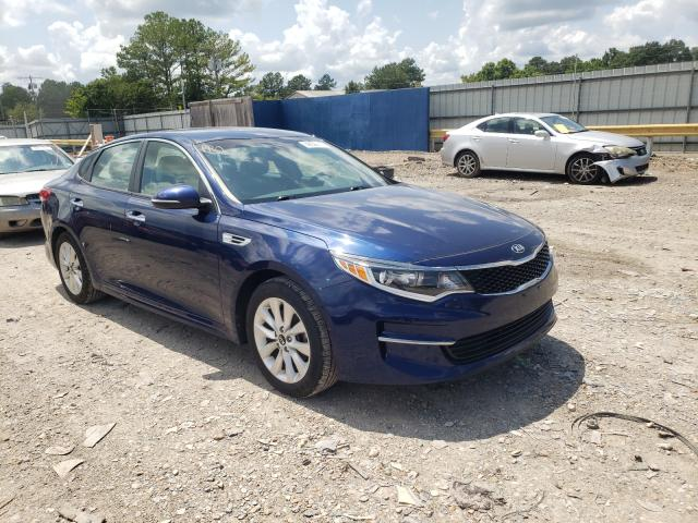 Salvage cars for sale from Copart Florence, MS: 2016 KIA Optima LX