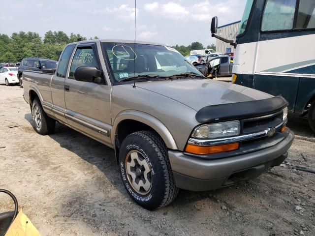 Chevrolet S10 salvage cars for sale: 2000 Chevrolet S10