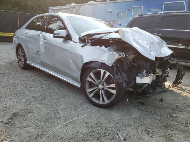Salvage cars for sale from Copart Waldorf, MD: 2014 Mercedes-Benz E 350 4matic