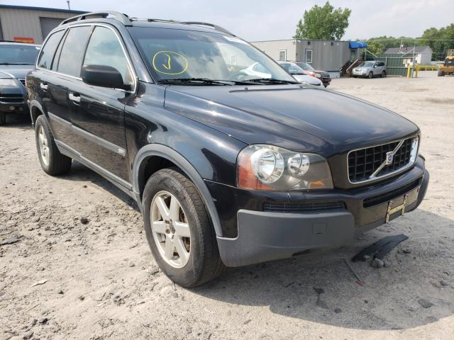 Volvo salvage cars for sale: 2004 Volvo XC90 T6