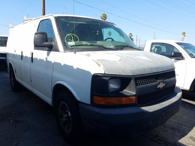 Salvage cars for sale from Copart Wilmington, CA: 2010 Chevrolet Express G1