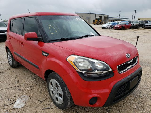 Salvage cars for sale from Copart San Antonio, TX: 2013 KIA Soul