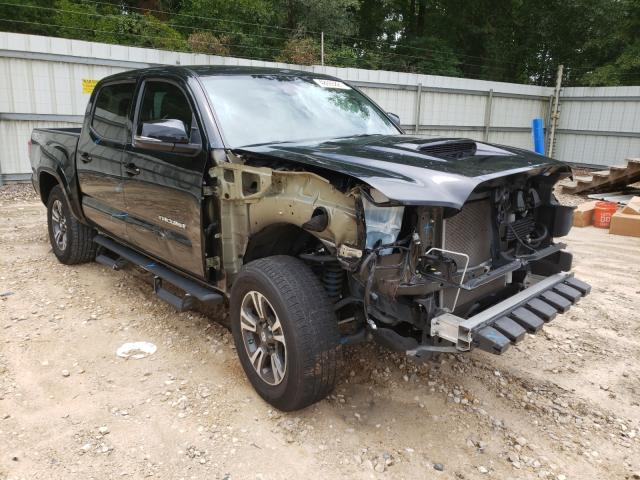 Salvage cars for sale from Copart Midway, FL: 2018 Toyota Tacoma DOU