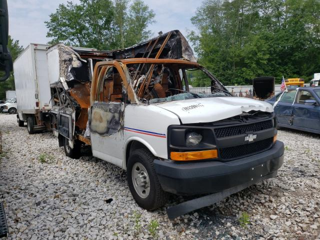 Salvage 2017 CHEVROLET EXPRESS - Small image. Lot 38239811