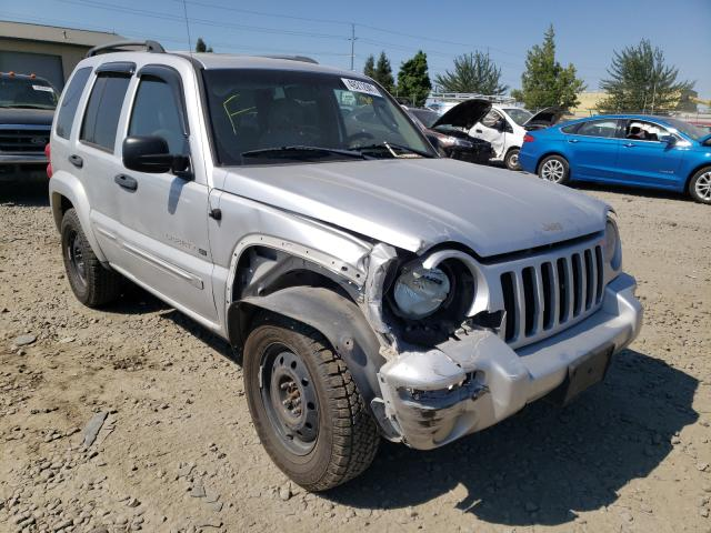 Salvage cars for sale from Copart Eugene, OR: 2003 Jeep Liberty LI