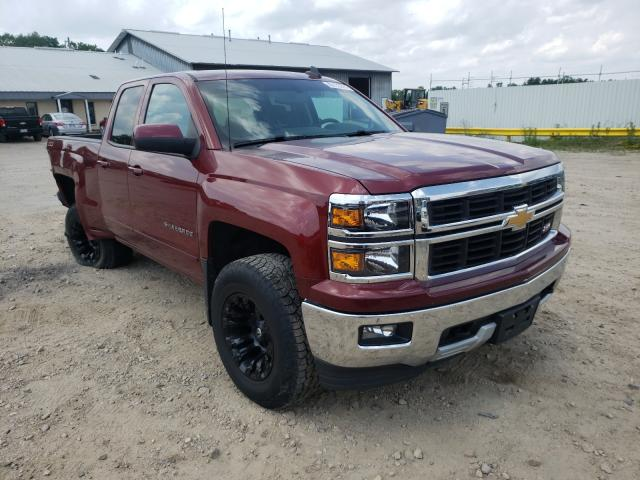 Salvage cars for sale from Copart Madison, WI: 2015 Chevrolet Silverado