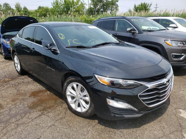 Salvage cars for sale from Copart Woodhaven, MI: 2021 Chevrolet Malibu LT