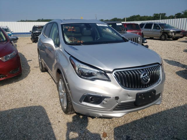 Buick Envision salvage cars for sale: 2017 Buick Envision