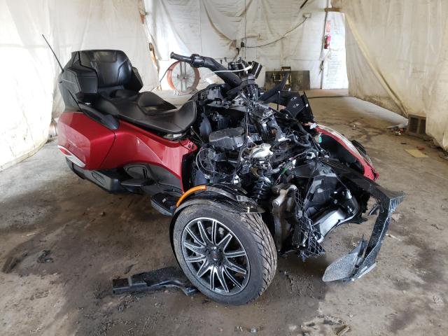 Salvage cars for sale from Copart Ebensburg, PA: 2015 Can-Am Spyder ROA