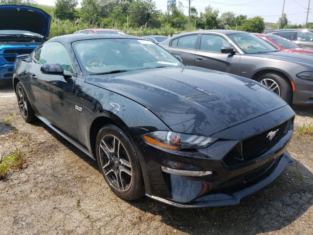 Salvage cars for sale from Copart Woodhaven, MI: 2020 Ford Mustang GT