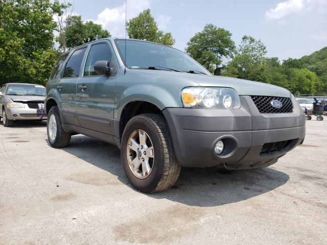 Salvage cars for sale from Copart Ellwood City, PA: 2007 Ford Escape XLT