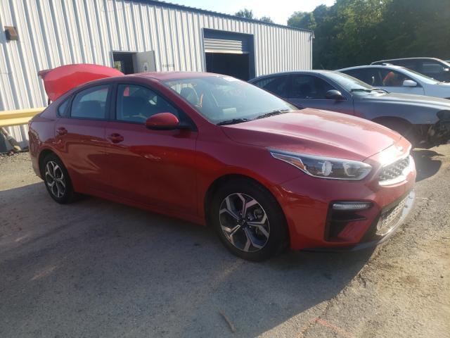 Salvage cars for sale at Shreveport, LA auction: 2020 KIA Forte FE
