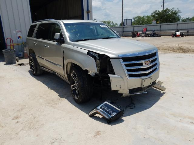 Salvage cars for sale from Copart Abilene, TX: 2017 Cadillac Escalade P
