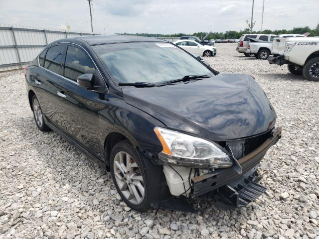 Salvage cars for sale from Copart Lawrenceburg, KY: 2015 Nissan Sentra S
