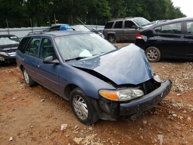 Salvage cars for sale from Copart Austell, GA: 1999 Ford Escort SE